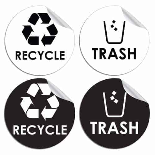 Recycle-Trash-Bin-Logo-Sticker