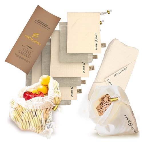 earth-junky-reusable-producse-bags-in-mesh-muslin