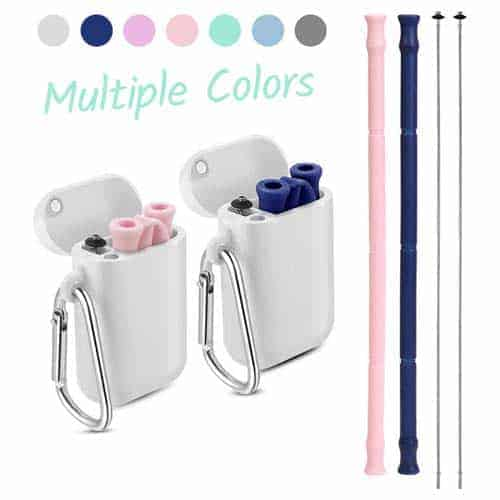 yoocaa-reusable-silicone-straws-collapsibe-2-pack