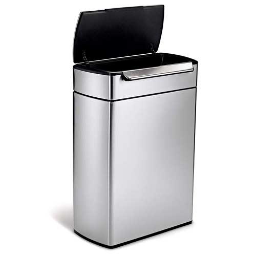 Simplehuman-48L-Touch-Bar-Recycler