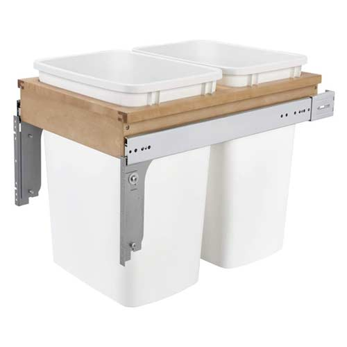 Rev-A-Shelf-4WCTM-18DM2-35-Quart-Pull-Out-Double-Waste-Trash-Container-Bin