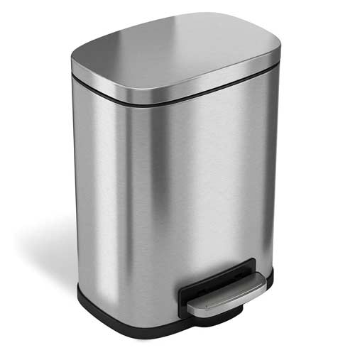 iTouchless-SoftStep-Bathroom-Stainless-Steel-Step-Trash-Can