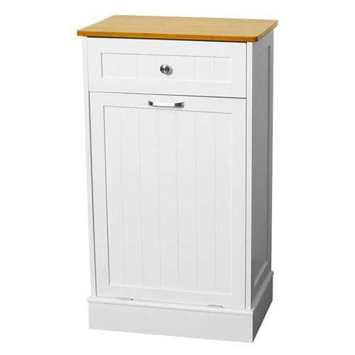 U-Eway-Wooden-Tilt-Out-Kitchen-Trash-Can