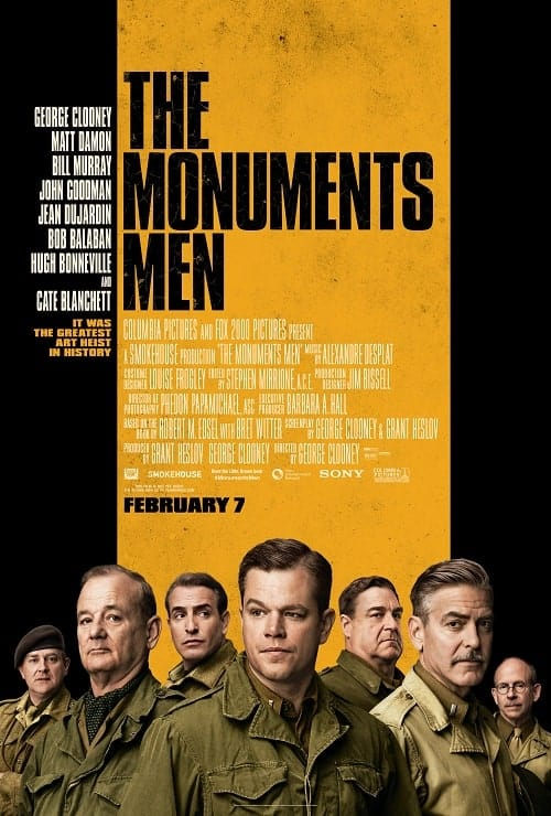The Monuments Men (2014). Watchlist