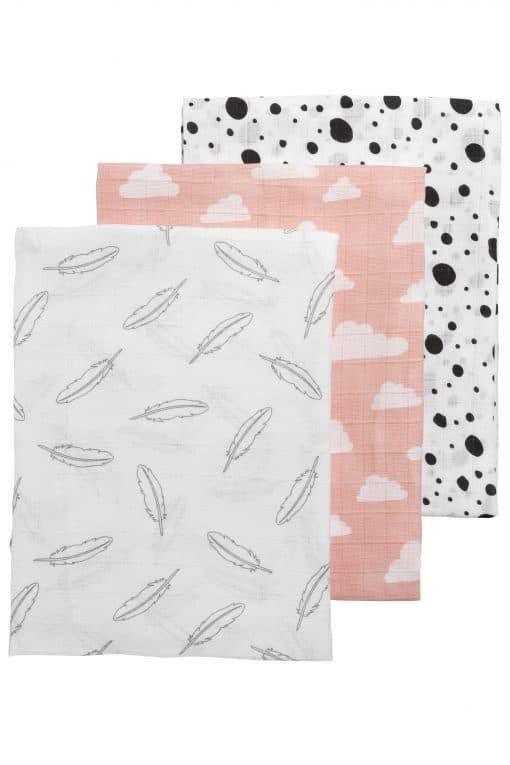 hydrofiele doek roze meyco