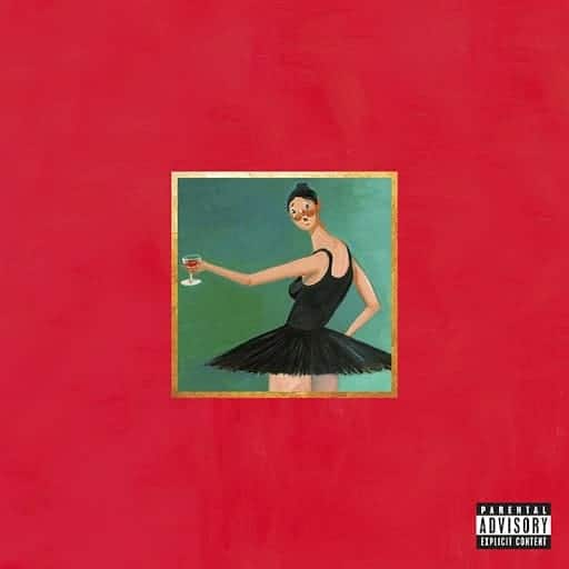 Kanye West's My Beautiful Dark Twisted Fantasy alternate cover by George Condo