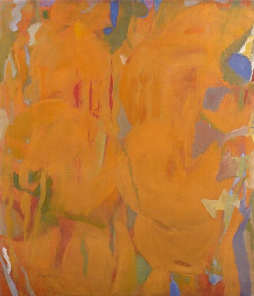 Perle Fine, Untitled (Prescience Series), 1952