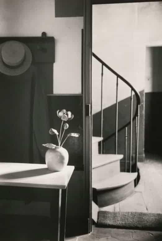 André Kertész' Mondrian's Studio, 1926
