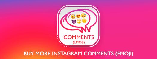 instagram comments emoji dubai