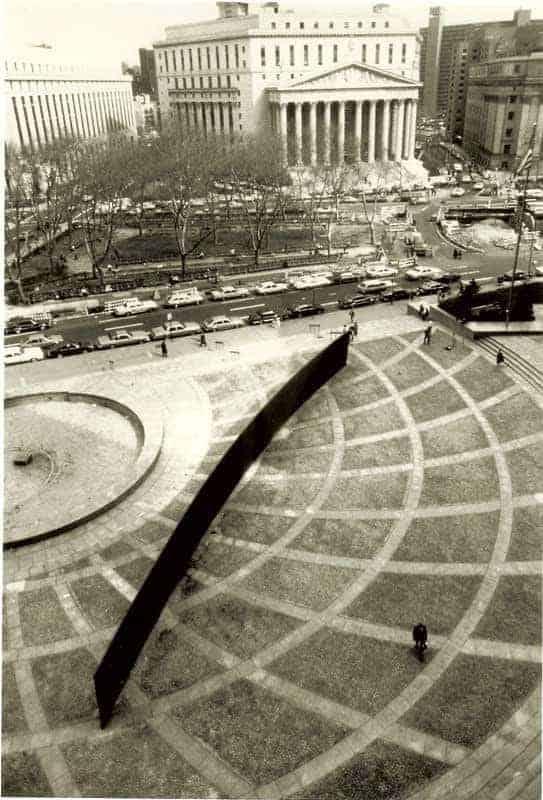 Richard Serra, Tilted Arc, 1981