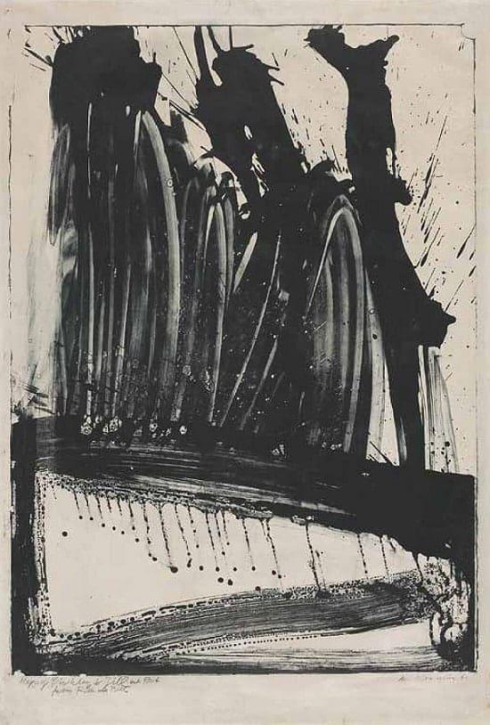 Willem de Kooning, Litho #2 (Waves #2), 1960