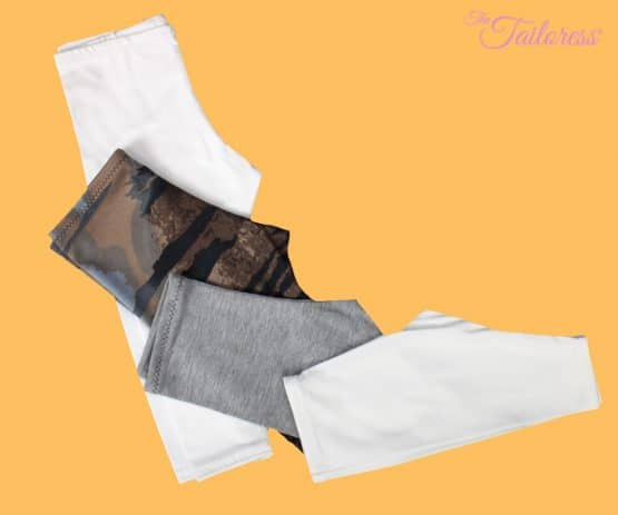The Tailoress PDF Sewing Patterns - Jessie Leggings - Child - PDF Sewing Pattern