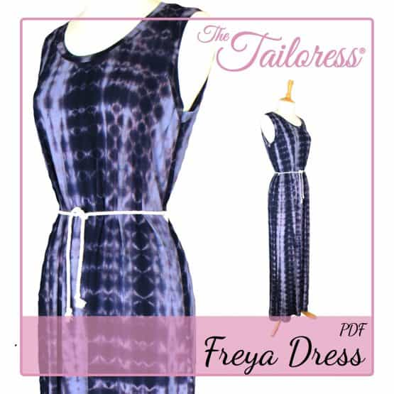The Tailoress PDF Sewing Patterns - Freya Dress PDF Sewing Pattern