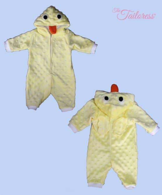 The Tailoress PDF Sewing Patterns - Children's CHICK - Playsuit Costume Pyjama PDF Pattern