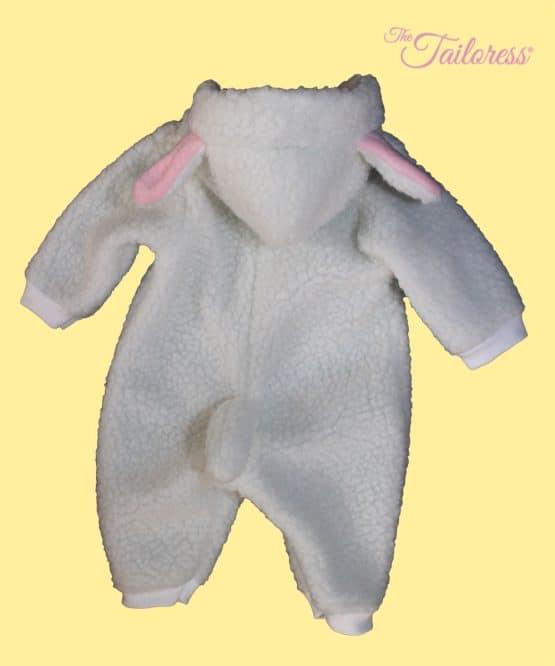 The Tailoress PDF Sewing Patterns - Children's LAMB - Playsuit Costume Pyjama PDF Pattern
