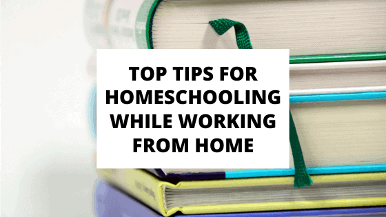 homeschooling while working from home