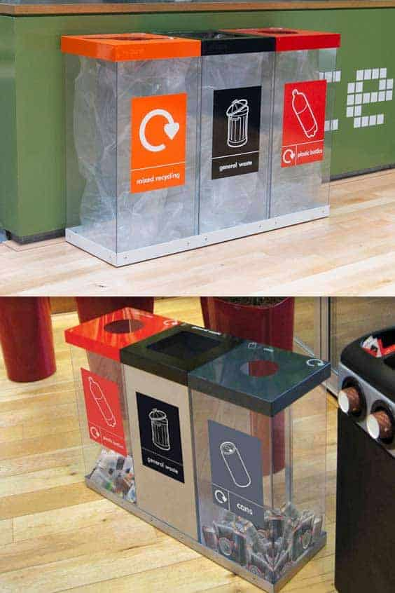 Box-Cycle-Triple-Transparent-Recycling-Bin-Station