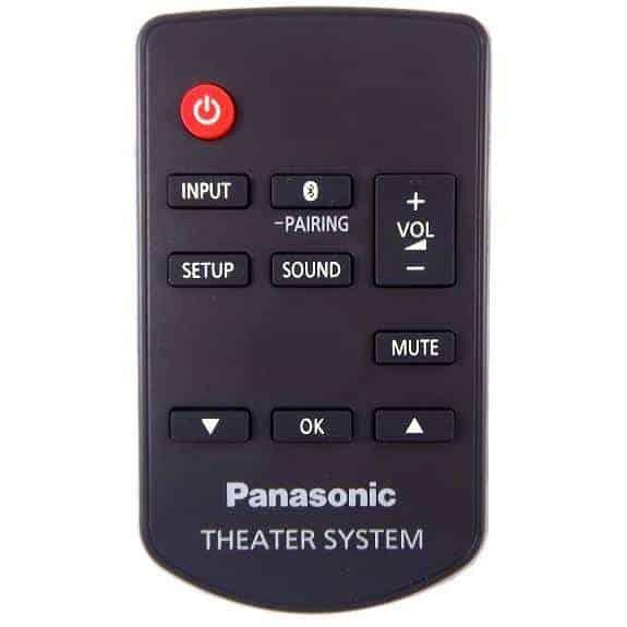 Mando barra de sonido Panasonic SC-HTB8