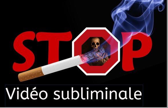 Vidéo subliminale arrêter de fumer