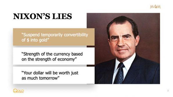 Nixon, Gold, Goldstandard