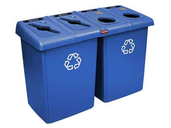 Rubbermaid-Commercial-Glutton-Recycling-Station