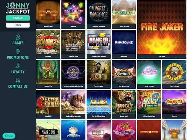 Is Jonny Jackpot Casino Legit Review 100 Free Spins Bonus