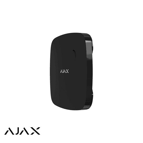 Ajax Brandmelder FireProtect, zwart draadloze optische rookmelder