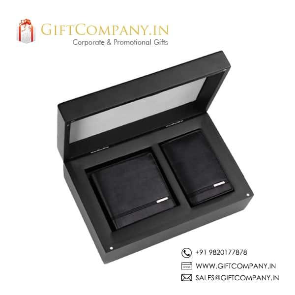 Cross Gift Set - 2, Wallet & Card Holder
