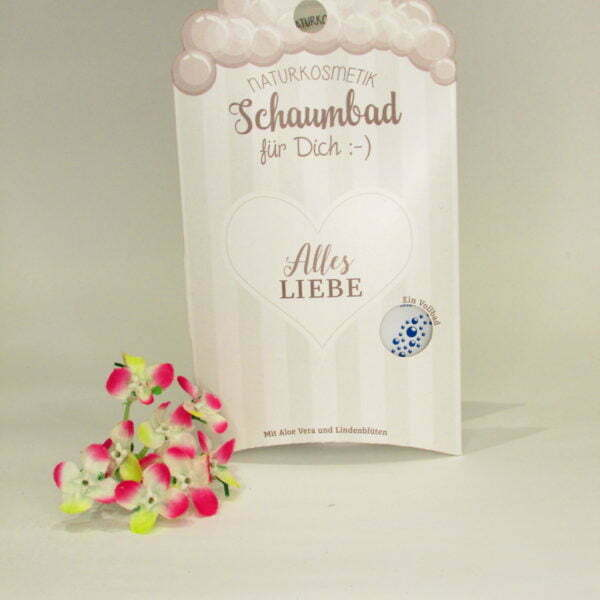 "La Vida Naturkosmetik Schaumbad ""Alles Liebe"""