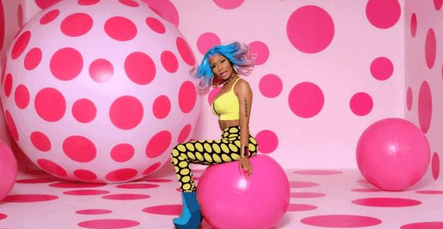 Nicki Minaj's music video for 'The Boys'