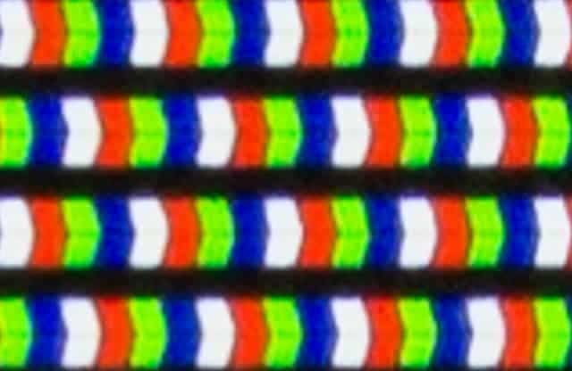 Píxeles en falsos televisores 4K
