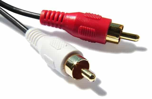 Cable de audio analógico RCA