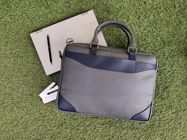 Laptop Bag CE4 - Grey & Navy Blue