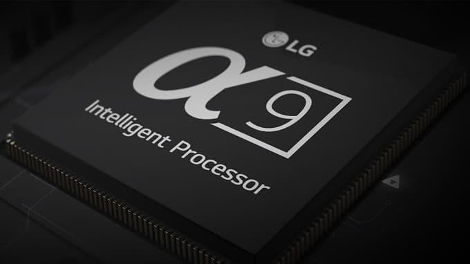 Procesador de imagen Alpha 9 de LG 2018