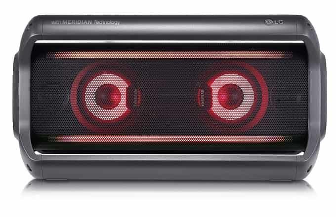 LG altavoz portátil serie PK