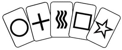 Les cartes de ZENER ont été utilisées lors des premières expériences parapsychologiques par le Docteur Joseph BANKS RHINE pour tester les phénomènes télépathiques