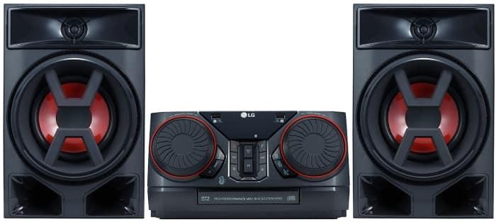 Altavoces de alta potencia LG CK43