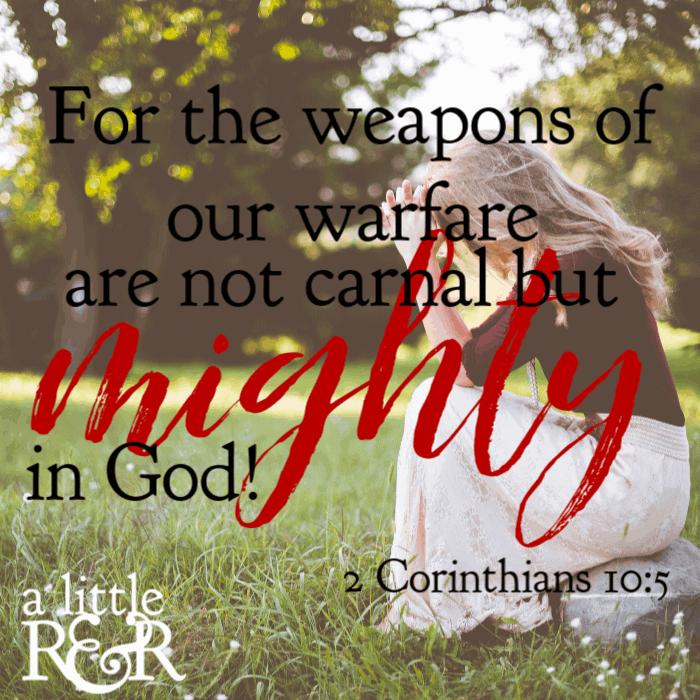 7 Weapons for Spiritual Warfare