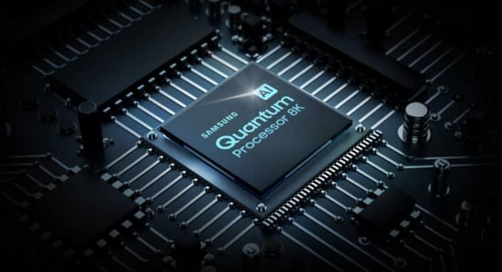 Procesador de imagen Samsung IA Quantum Processor 8K