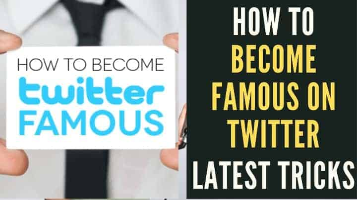 How To Become Famous on Twitter in 2021