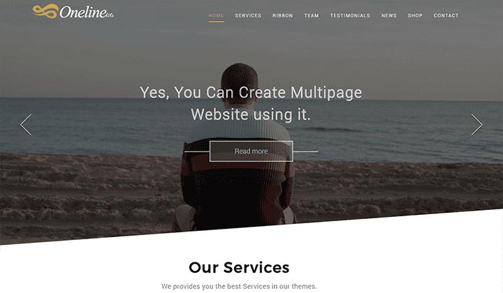 online lite business theme free