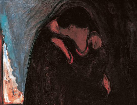 Edvard Munch, The Kiss