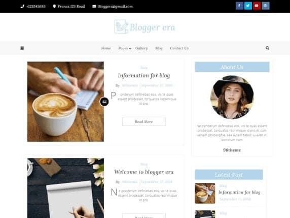 blogger free era theme