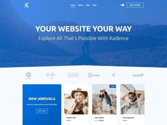 kandence blog theme
