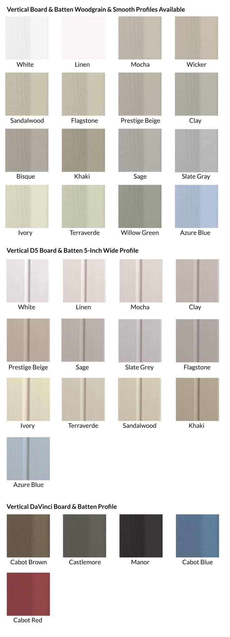 Vertical Board & Batten Siding Company London
