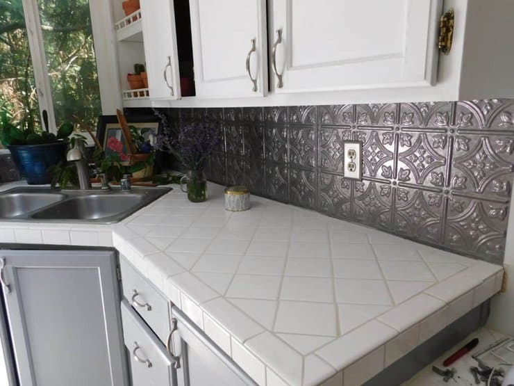 Tile Over Laminate Counters How To