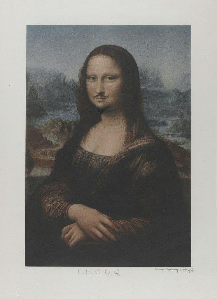 Marcel Duchamp, L.H.O.O.Q., 1919