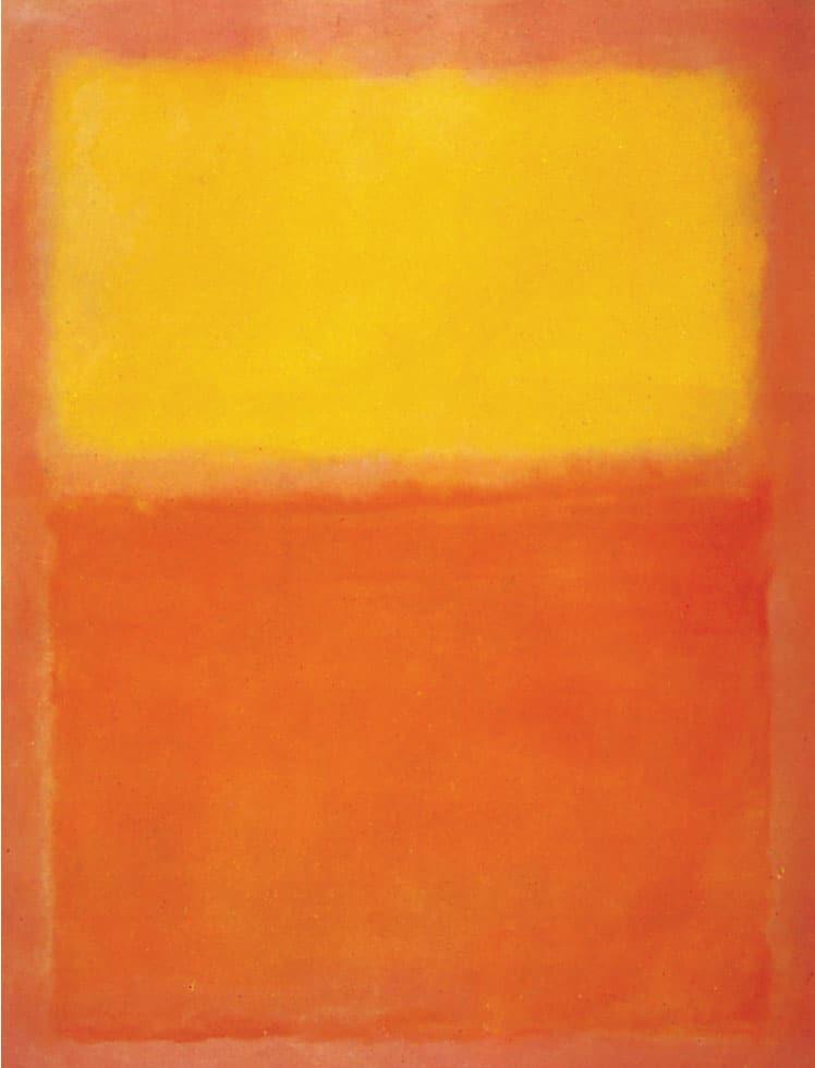 Mark Rothko colour field