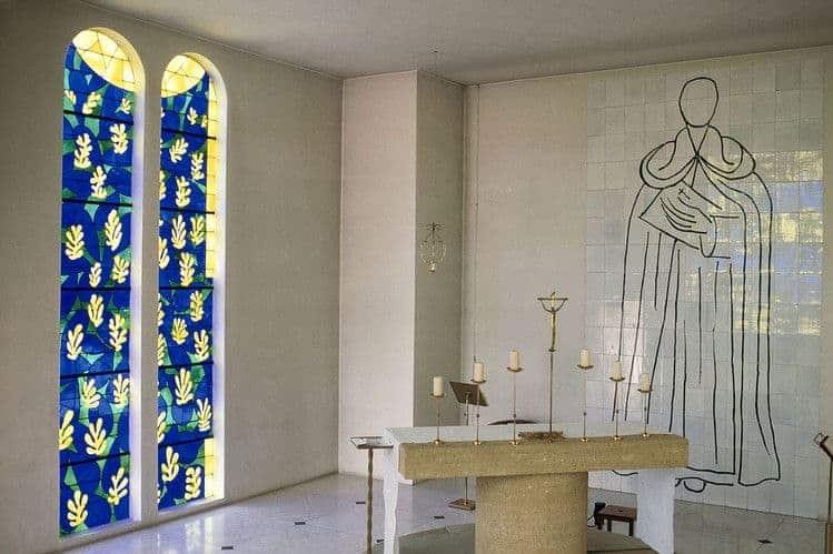 artist-designed chapels