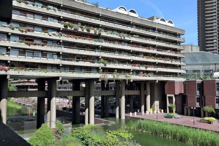 The Barbican Centre In London, England